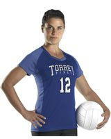 Alleson Athletic Women's Dig Short Sleeve Volleyball Jersey A00233
