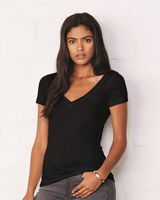 Bella + Canvas Women's Short Sleeve Burnout V-Neck Tee 8605