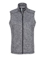 J. America Cosmic Fleece Women's Vest 8625