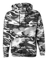 Code Five Adult Camo Pullover Fleece Hoodie 3969