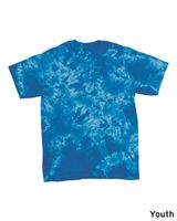 Dyenomite Youth Crystal Tie Dye T-Shirt 20BCR