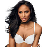 Maidenform Love the Lift Push Up and In Satin Demi Bra DM9900