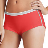 Hanes Womens Sport Comfort X-Temp Boyshort Panties with Comfort Flex Waistband 3-Pk CA49AS