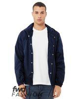 BELLA + CANVAS Fashion Hooded Coach's Jacket 3955