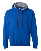 Gildan Heavy Blend Hooded Sweatshirt with Contrast Color Lining 185C00