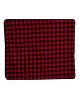 Alpine Fleece Patterned Picnic Blanket 8702