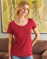 Hanes Women's Modal Triblend Short Sleeve T-Shirt MO150