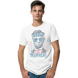 Hanes Mens Murica Graphic Tee Shirt GT49C/A1