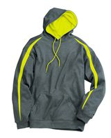 Badger Pro Heather Fusion Performance Fleece Hooded Pullover 1467