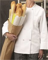 Chef Designs Eight Pearl Button Chef Coat Long Sizes 0403L