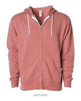 Independent Trading Co. Unisex Hooded Full-Zip Sweatshirt AFX90UNZ