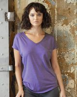 Anvil Women's Triblend V-Neck T-Shirt 6750VL