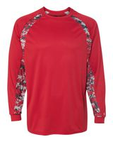 Badger Digital Camo Hook Long Sleeve T-Shirt 4155