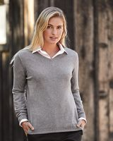 Weatherproof Vintage Women's Cotton Cashmere V-Neck Sweater W151363