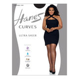 Hanes Curves Ultra Sheer Control Top Legwear HSP001