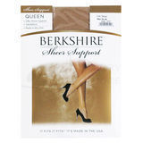 Berkshire 4417 Queen Size Sheer Support Pantyhose Control Top ST