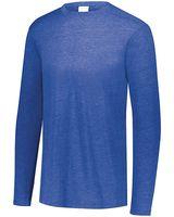 Augusta Sportswear Youth Triblend Long Sleeve Crewneck T-Shirt 3076