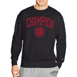 Champion Men's Heritage Fleece Crew Collegiate Logo With Crest S1230 549802