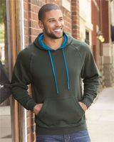 J. America Shadow Fleece Hooded Pullover Sweatshirt 8883