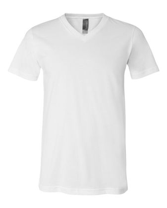 BELLA + CANVAS Unisex Jersey V-Neck Tee 3005