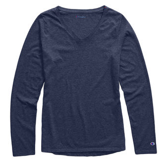 Champion Women Authenic Wash Long Sleeve Tee W3138
