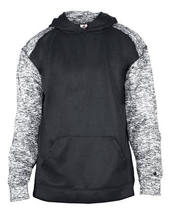 Badger Youth Sport Blend Hooded Sweatshirt 2462
