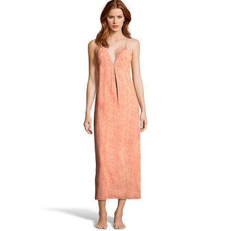 Maidenform Lace-Trim Maxi Gown MFS8280