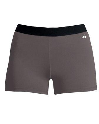 Badger Girls\' Pro-Compression Shorts 2629