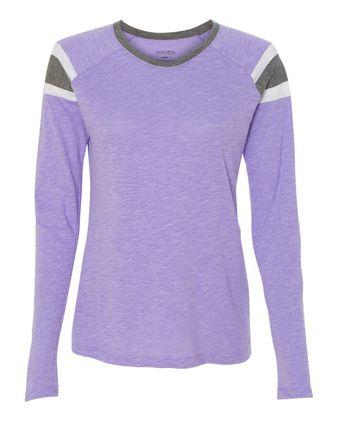 Augusta Sportswear Women\'s Long Sleeve Fanatic T-Shirt 3012