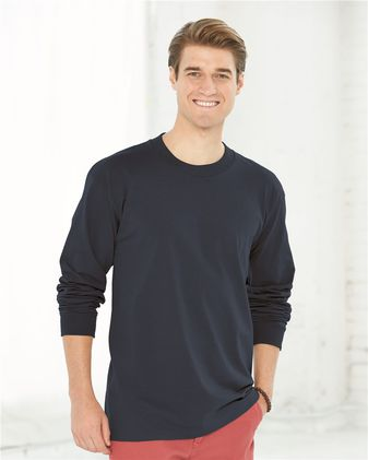 Bayside USA-Made Long Sleeve T-Shirt 6100