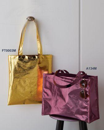 Liberty Bags Easy Print Metallic Tote FT003M