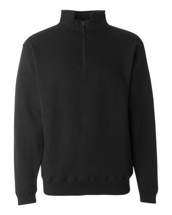 J. America Heavyweight Fleece Quarter-Zip Sweatshirt 8634