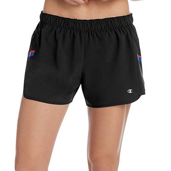 Champion Women\'s Woven Train Shorts With Side Stripes M9216 549667