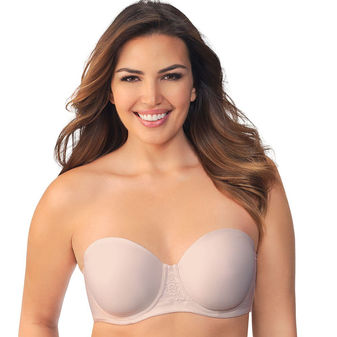 Vanity Fair Beauty Back Full Figure Strapless Bra 74380