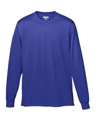 Augusta Sportswear Youth Wicking Long Sleeve T-Shirt 789