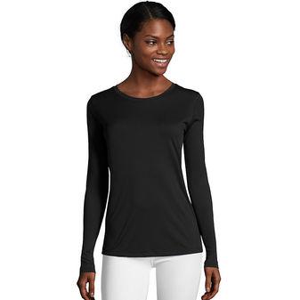 Hanes Sport™ Cool DRI® Women\'s Performance Long-Sleeve T-Shirt O9308