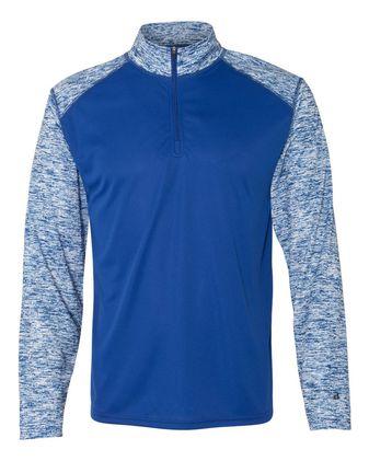 Badger Blend Sport Quarter-Zip Pullover 4197