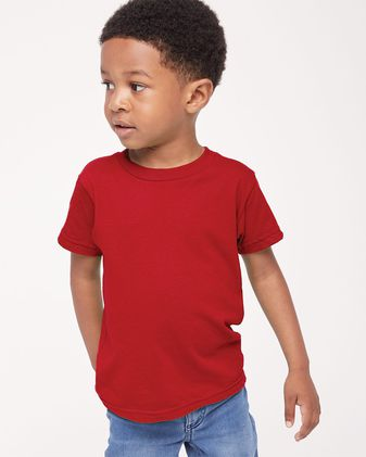 American Apparel Toddler Fine Jersey Tee 2105W