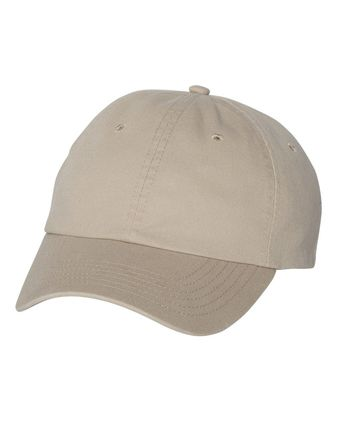 Valucap Unstructured Washed Chino Twill Cap VC350