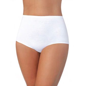 Vanity Fair Women\'s Perfectly Yours Classic Cotton Brief Panty 15319