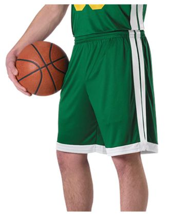 Alleson Athletic Single Ply Basketball Shorts A00115