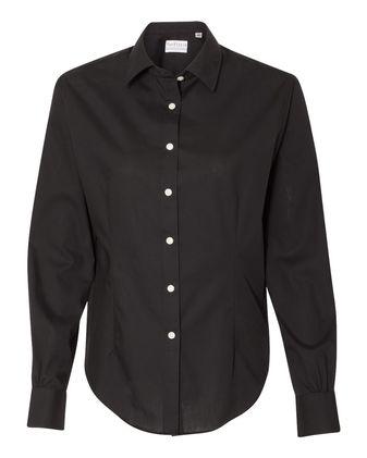 Van Heusen Women\'s Extreme Color Long Sleeve Shirt 13V0429