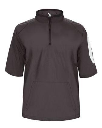 Badger Sideline Short Sleeve Pullover 7642