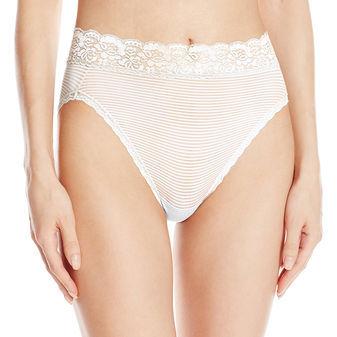 Vanity Fair Flattering Lace Hi-Cut Brief Panty 13280