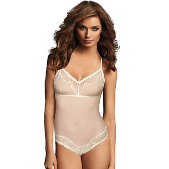 Maidenform Casual Comfort Lounge Collection Cheeky Bodysuit DMCCCB