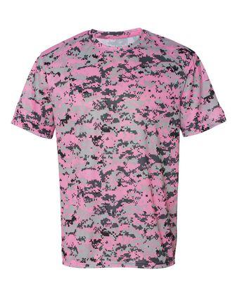 Badger Digital Camo Short Sleeve T-Shirt 4180