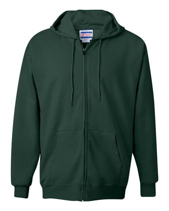 Hanes Ultimate Cotton® Full-Zip Hooded Sweatshirt F280
