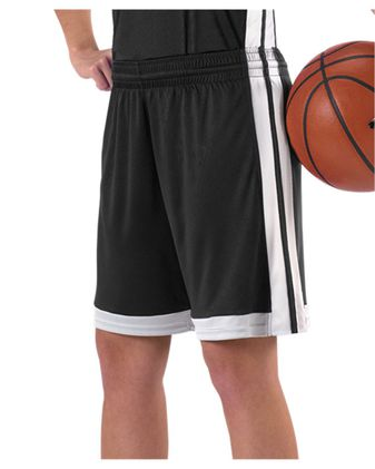 Alleson Athletic Women\'s Single Ply Basketball Shorts A00132