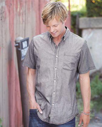 Burnside Stretch-Stripe Short Sleeve Shirt 9259