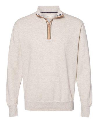 Weatherproof Marled Quarter-Zip Sweatshirt 198775